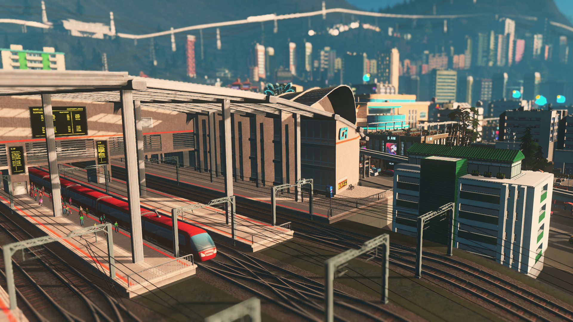 All City Service Buildings Cities Skylines