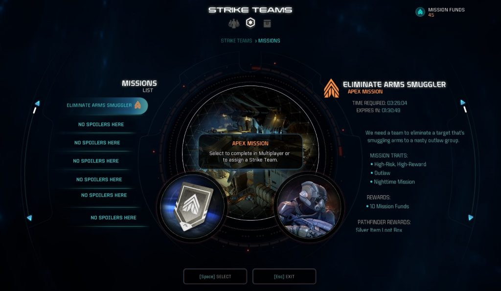 Mass Effect Andromeda Reveals Strike Teams with New Screenshots and Info Aplenty