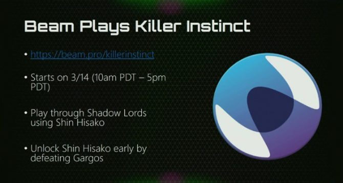 Shin Hisako Joining Killer Instinct on 'at least by' March 21 for .99