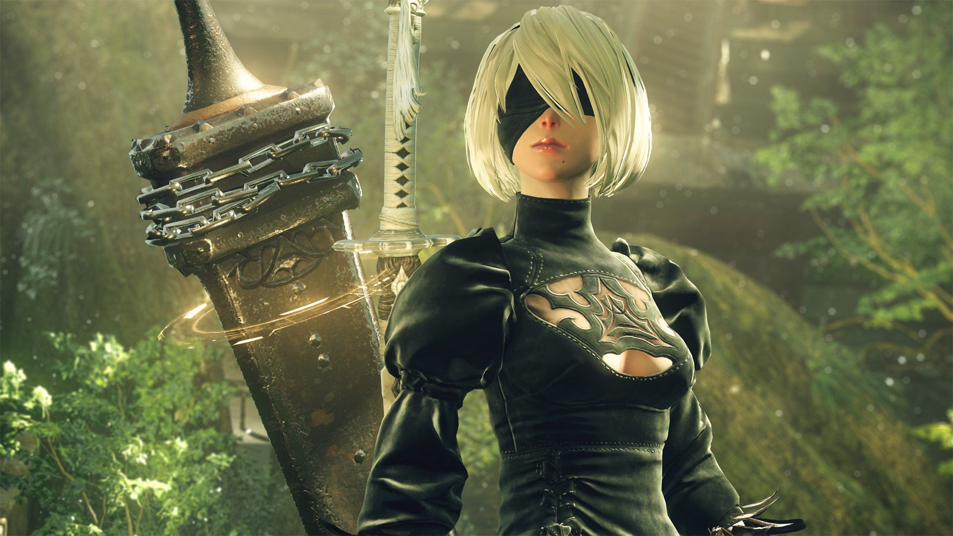 Here Is What Nier Automata Looks Like On Pc In 4k Resolution