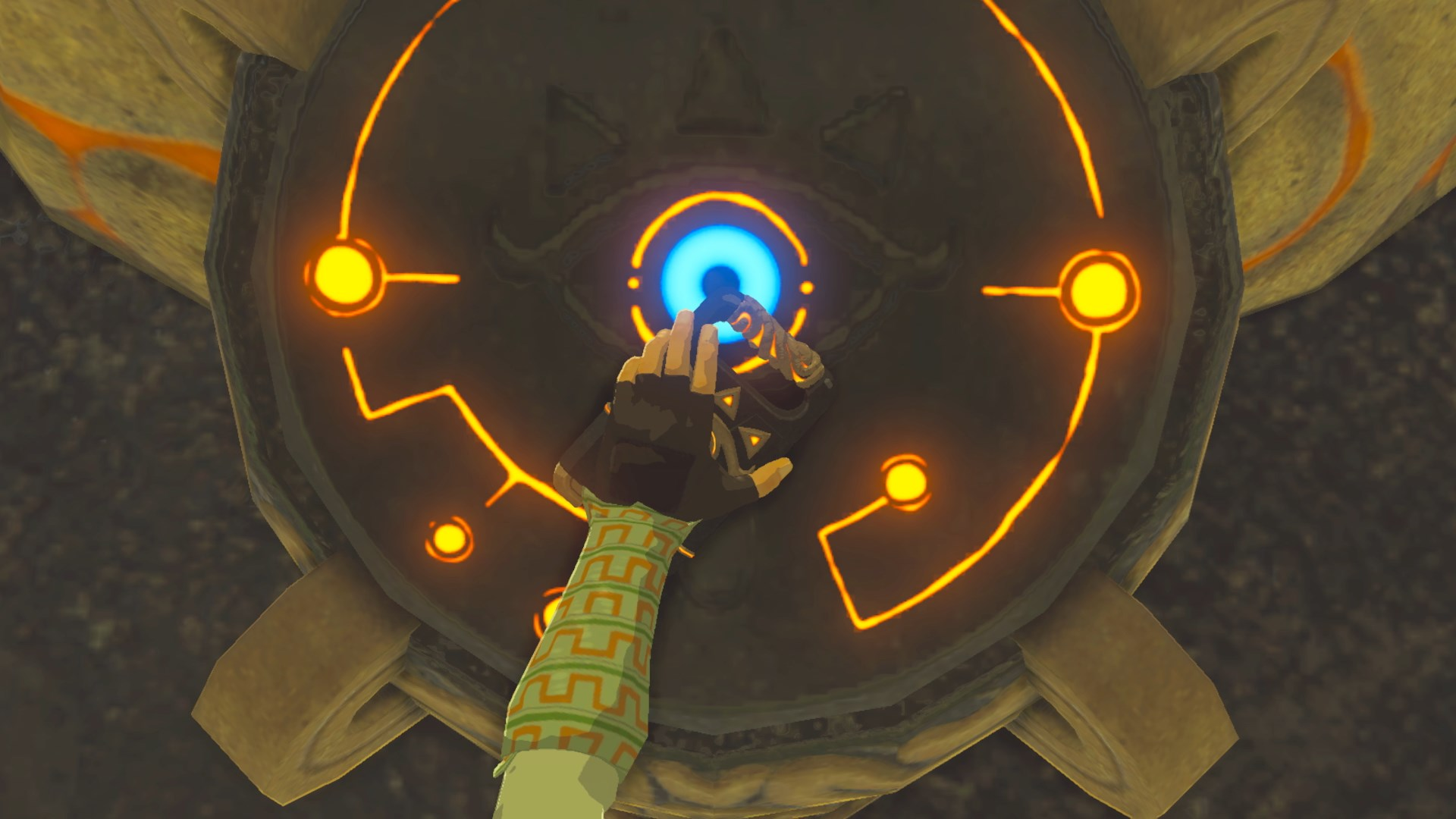 The Legend of Zelda: Breath of the Wild Sheikah Runes Phone Charger Invokes Powerful Magic