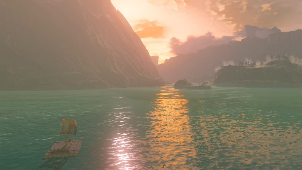 A Breath of the Wild Player Found An Incredibly Easy Way To Catch Fish