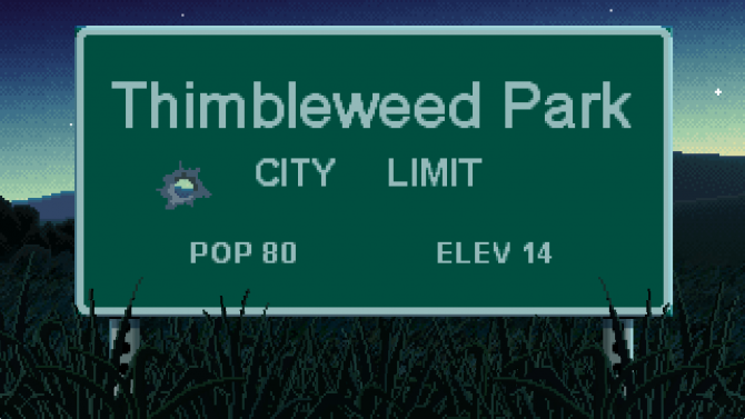 Thimbleweed Park Review -- A Small Town with Big Secrets