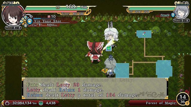 Touhou Genso Wanderer Review -- A Classic Roguelike for a New Generation