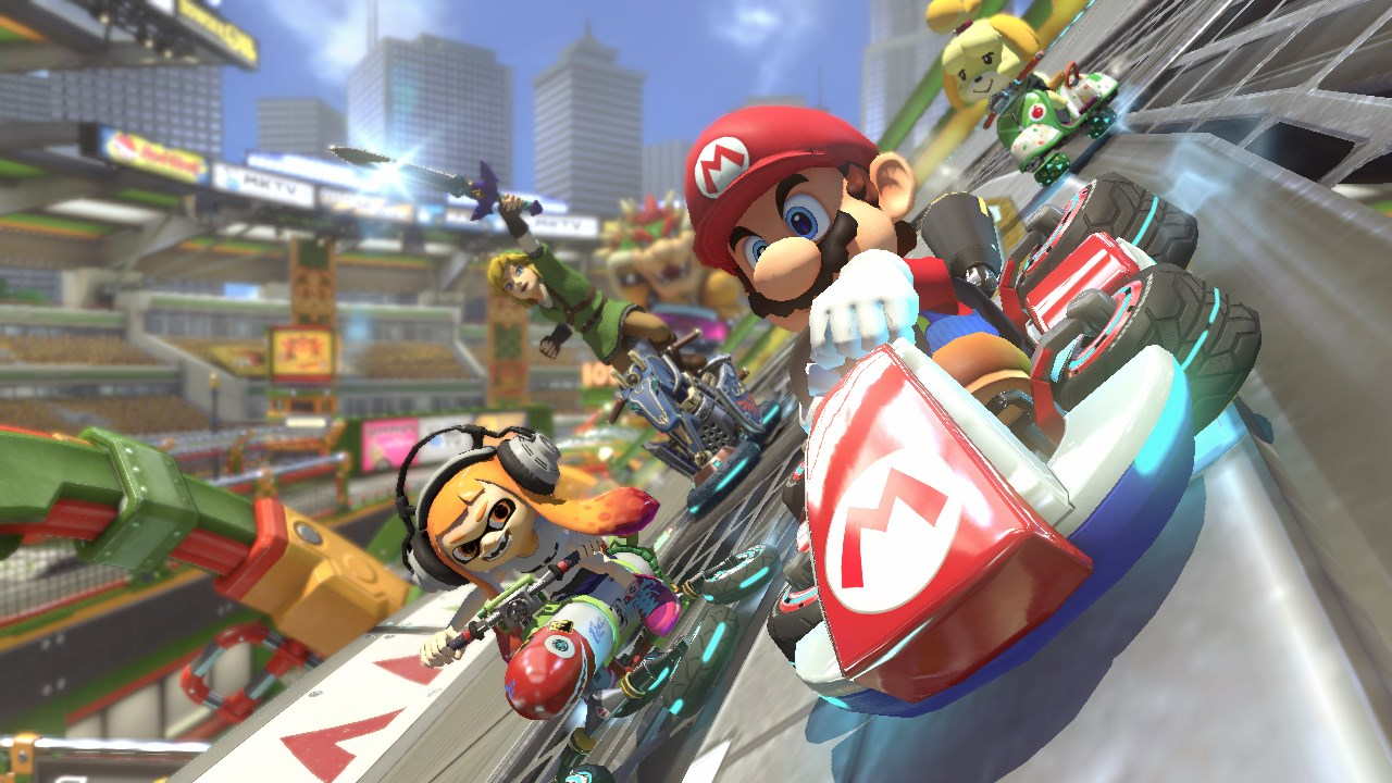 Mario Kart 8 Deluxe Review -- In With the Old, In With the New