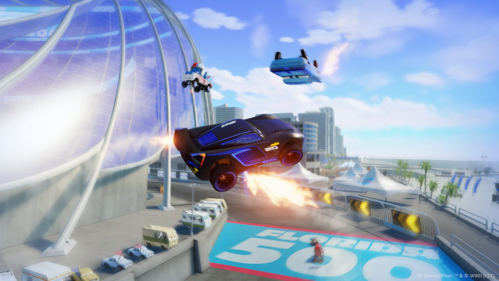 Cars 3 Driven To Win Gets New Gameplay Trailer