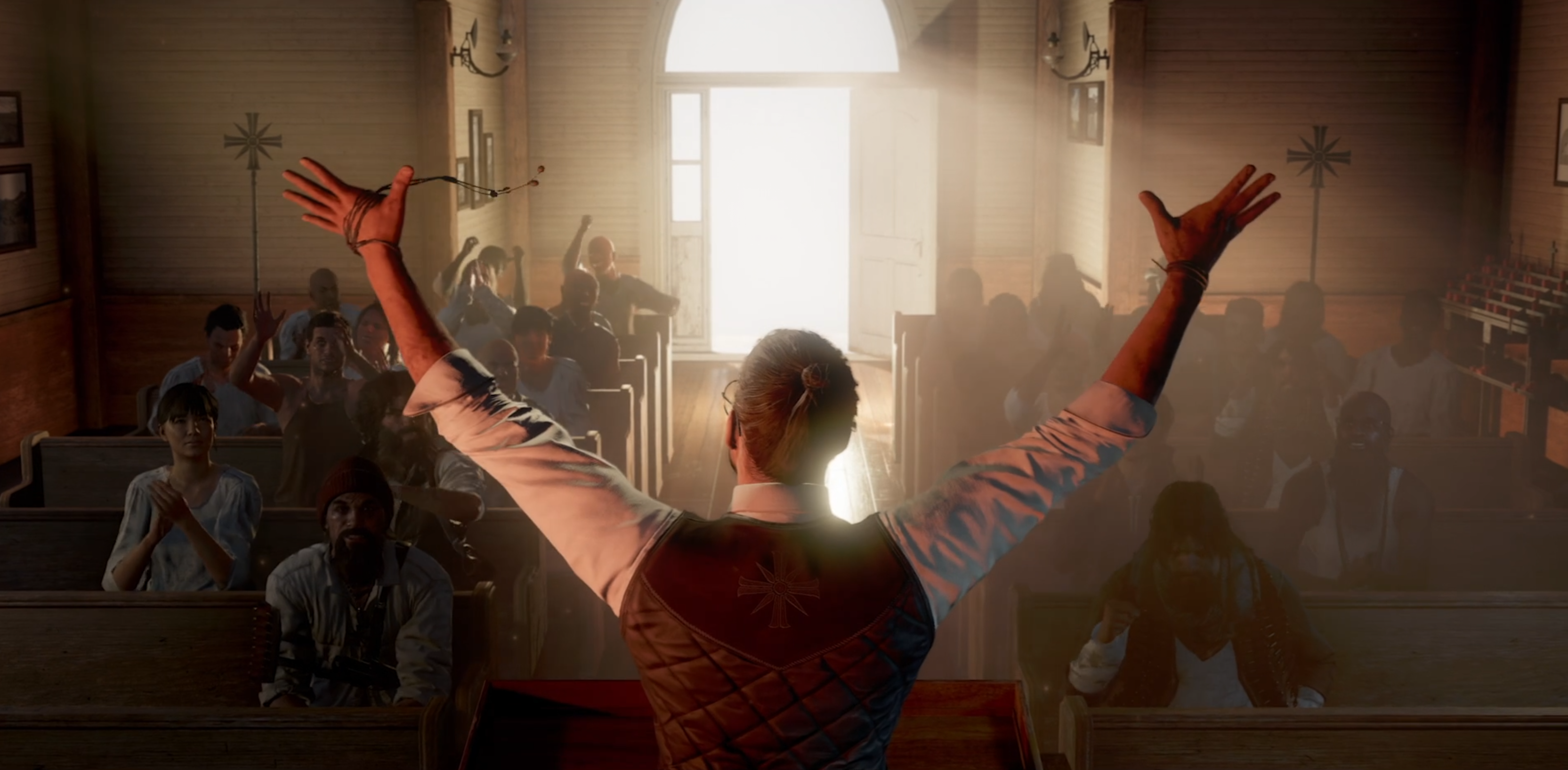 New Far Cry 5 Video Sheds Light On Characters And Co Op Gameplay