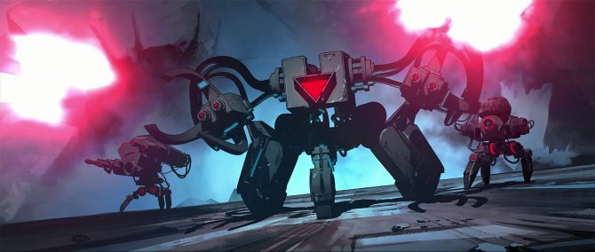 Nex Machina Interview - Housemarque on Finding What Lies at the Heart of Old-School Arcade Shooters
