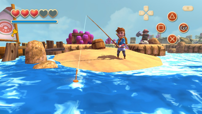Oceanhorn: Monster of the Uncharted Seas Review -- A Link with No Soul