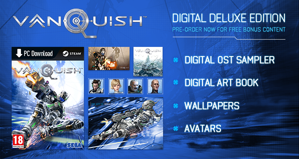 Vanquish for PC Officially Confirmed Alongside New Trailer; Coming May 25th