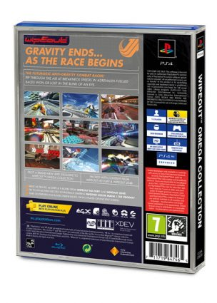 WipEout Omega Collection's PS4 Sleeve is Heavy on the Nostalgia