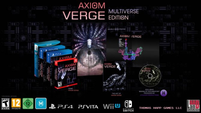 Axiom Verge: Multiverse Edition Announced for Nintendo Switch; Coming this August