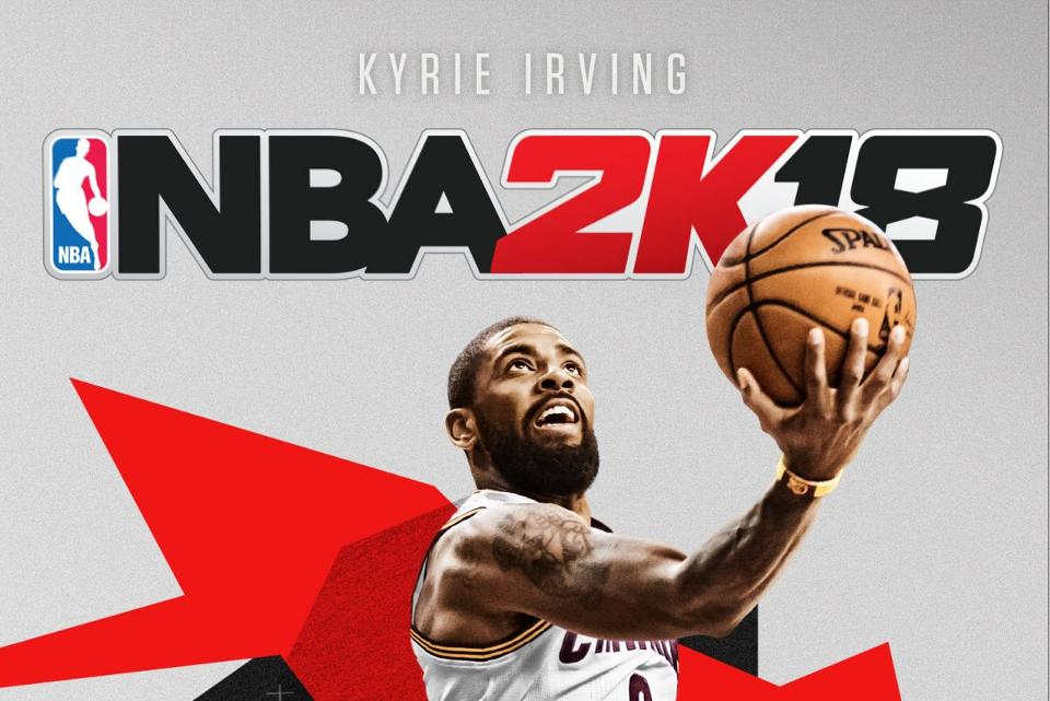 2K Reveals Alternate NBA 2K18 Cover With Kyrie Irving In A ...