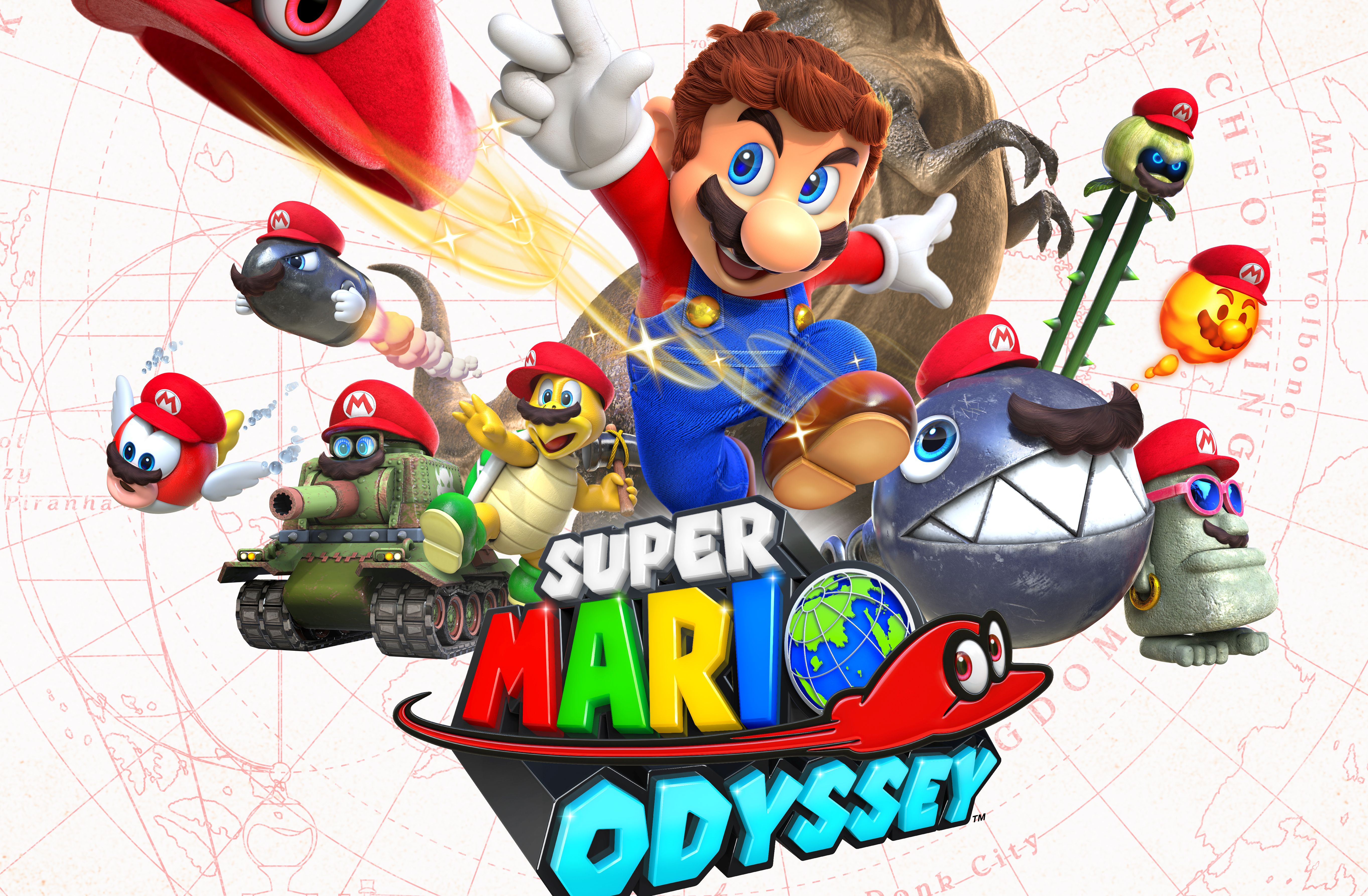 Super Mario Odyssey is Now the Best-Selling 3D Mario Game Ever