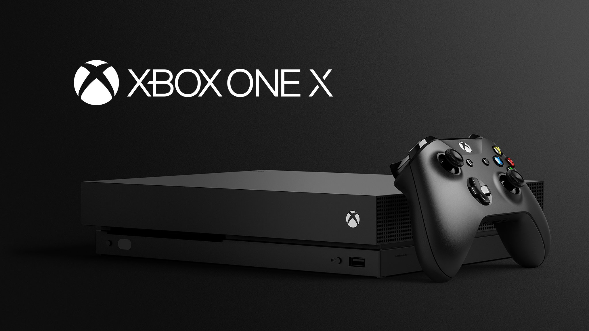 Xbox One X Microsoft Releases Official Pictures Specs Size And