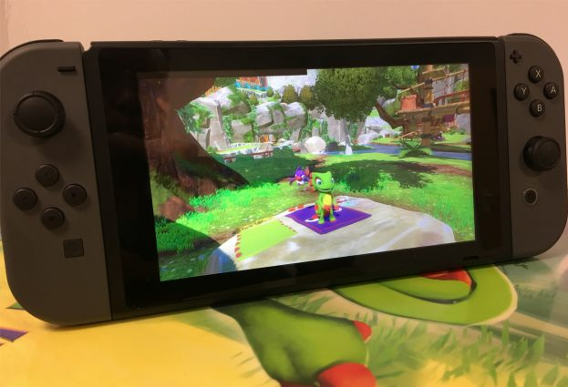 Yooka-Laylee's First Big Update Arrives Later this Month, Switch Version Teased