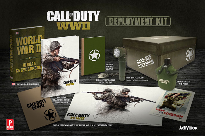 Call of Duty: WWII Strategy Guide Deployment Kit Announced