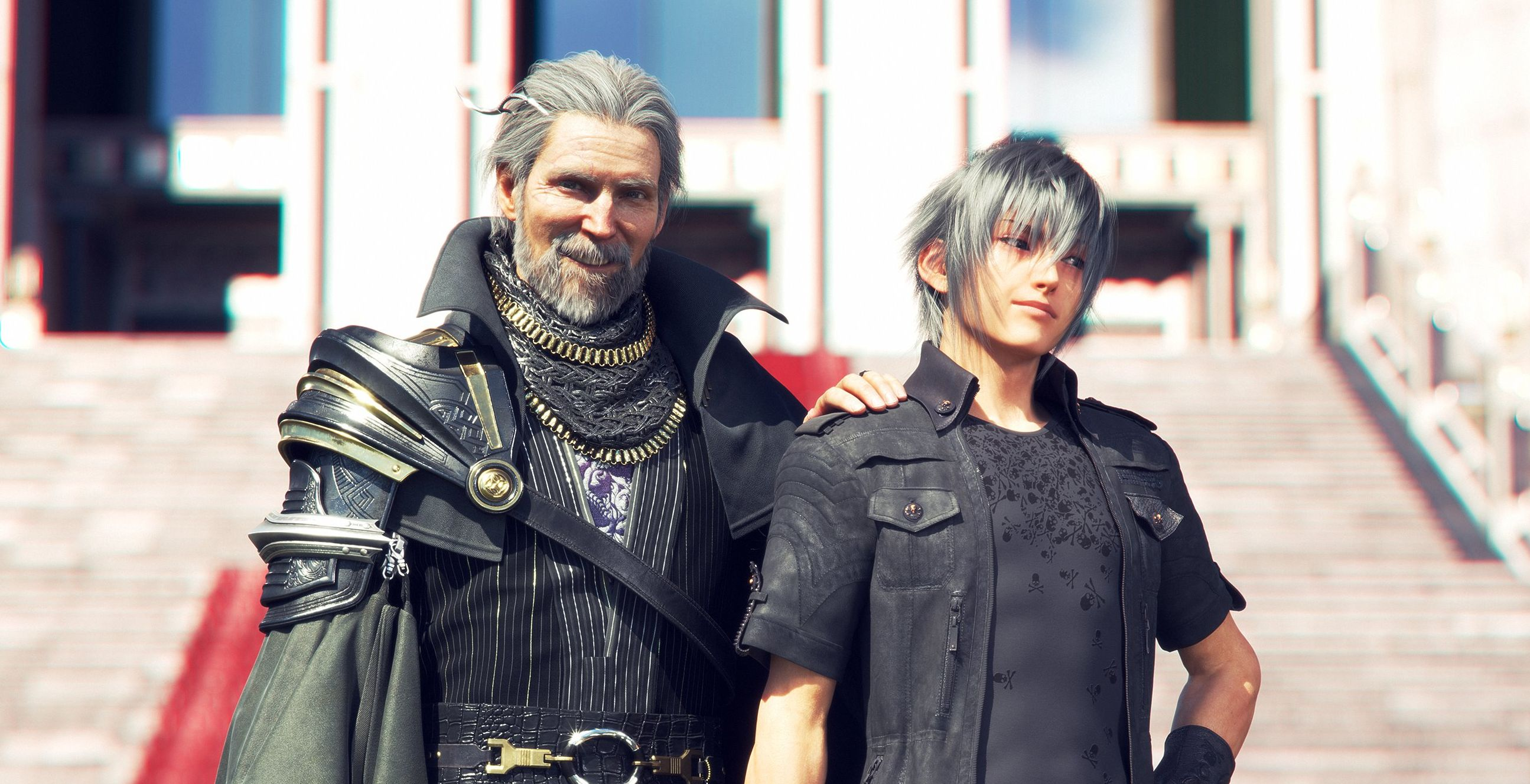 Final Fantasy Xv Gets Adorable Pictures Of Noctis And Regis To