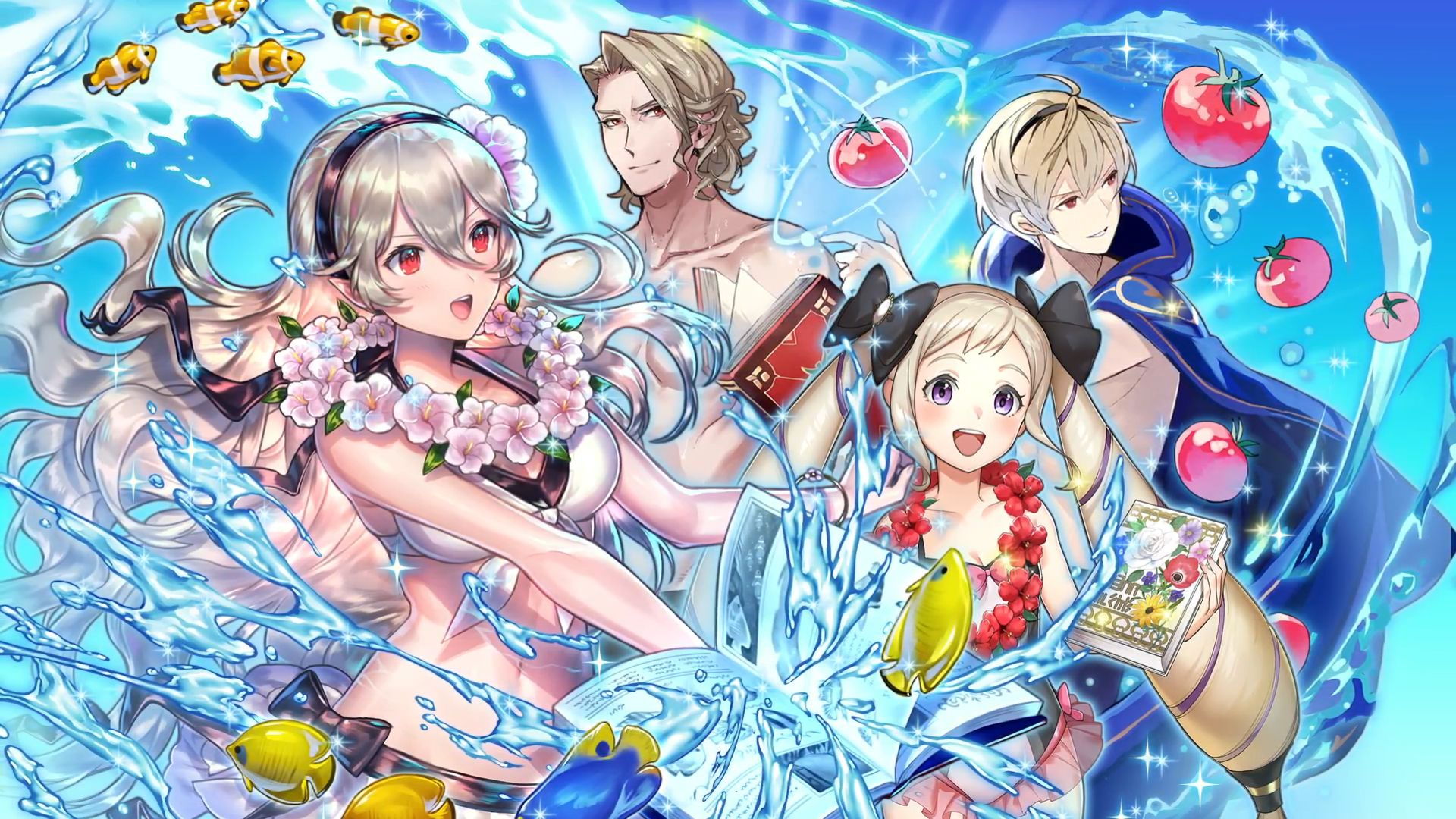 Fire Emblem Heroes Getting More Swimsuit Heroes Paralogue And A
