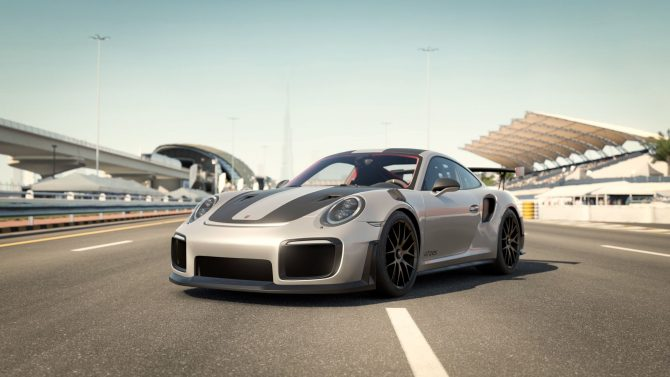 forza motorsport 7 shows porsche 911 gt2 rs in dubai on xbox one x gameplay v. Black Bedroom Furniture Sets. Home Design Ideas