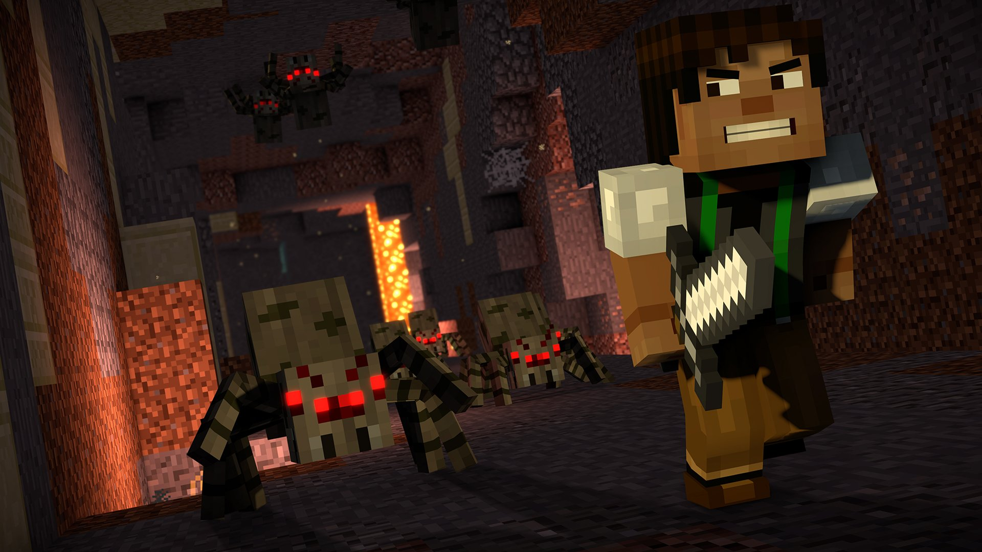 Minecraft: Story Mode: Season Two: Episode 1 Review -- Building Up to a New Adventure