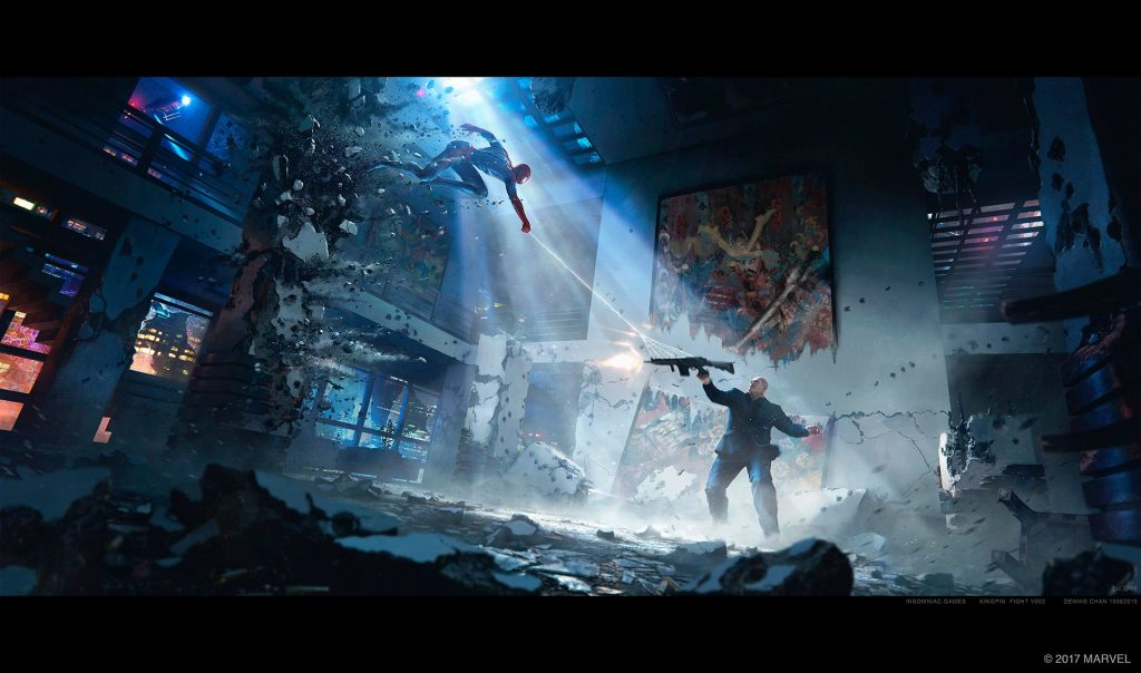 Marvel's Spider-Man -- Analyzing the New Concept Art Reveals Unspoken Details About the Game