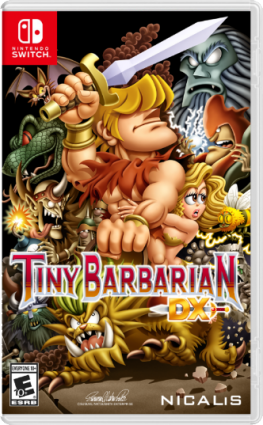 Tiny Barbarian DX For Switch Receives Cover Art By Famitsu Artist Susumu Matsushita