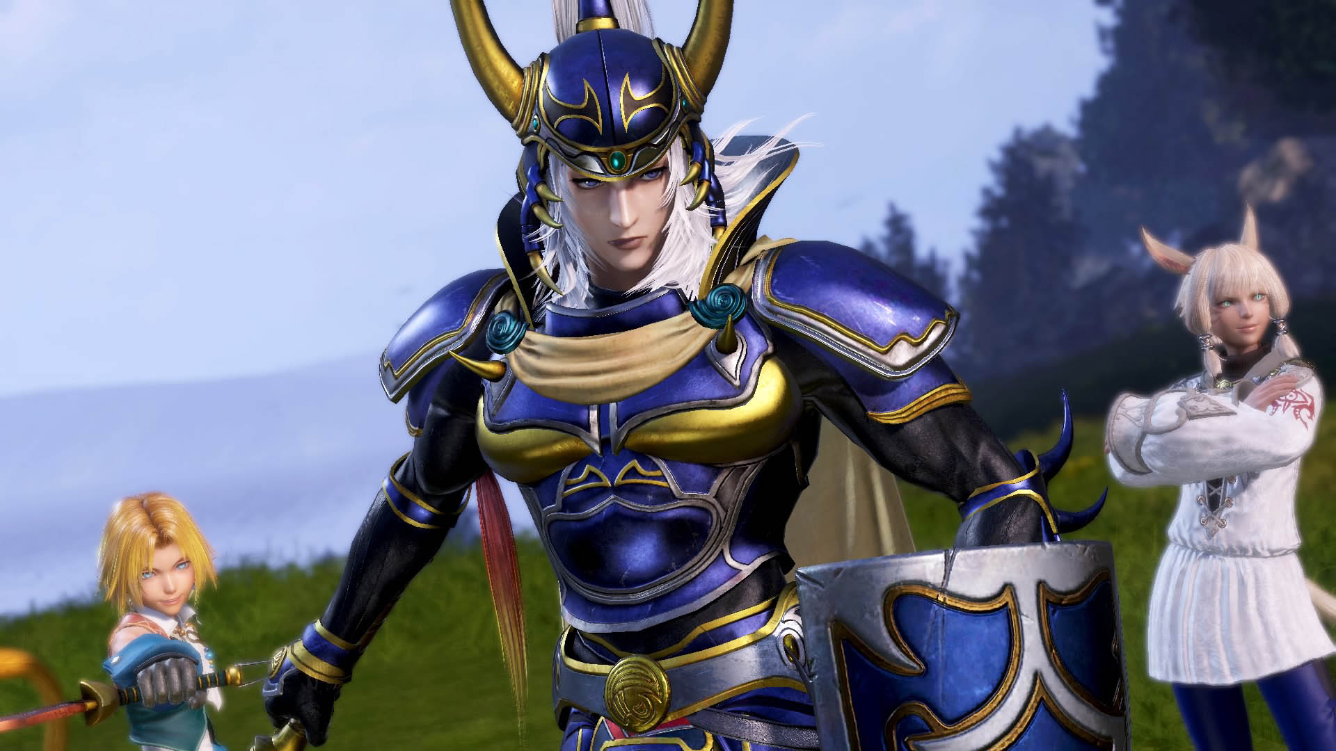 Dissidia Final Fantasy Nt Bringing Changes To The Warrior Of Light