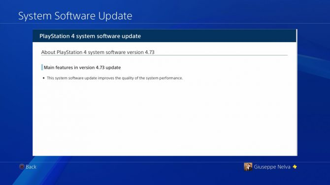 PS4 System Software Update 4.73 Released