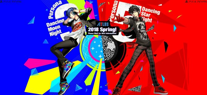 Persona 5 Dancing Star Night and Persona 3 Dancing Moon Night Announced for PS4 and PS Vita