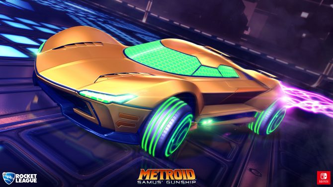 Rocket League on Nintendo Switch Is Nearly Identical to Other Versions