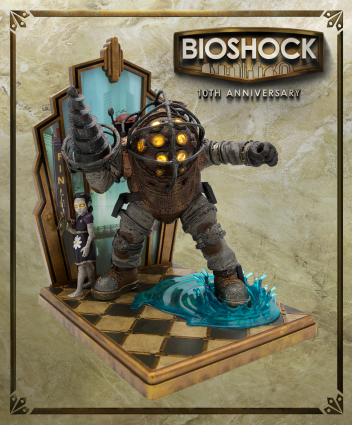 BioShock: 10th Anniversary Collector's Edition Featuring a Big Daddy and Little Sister Statue Announced