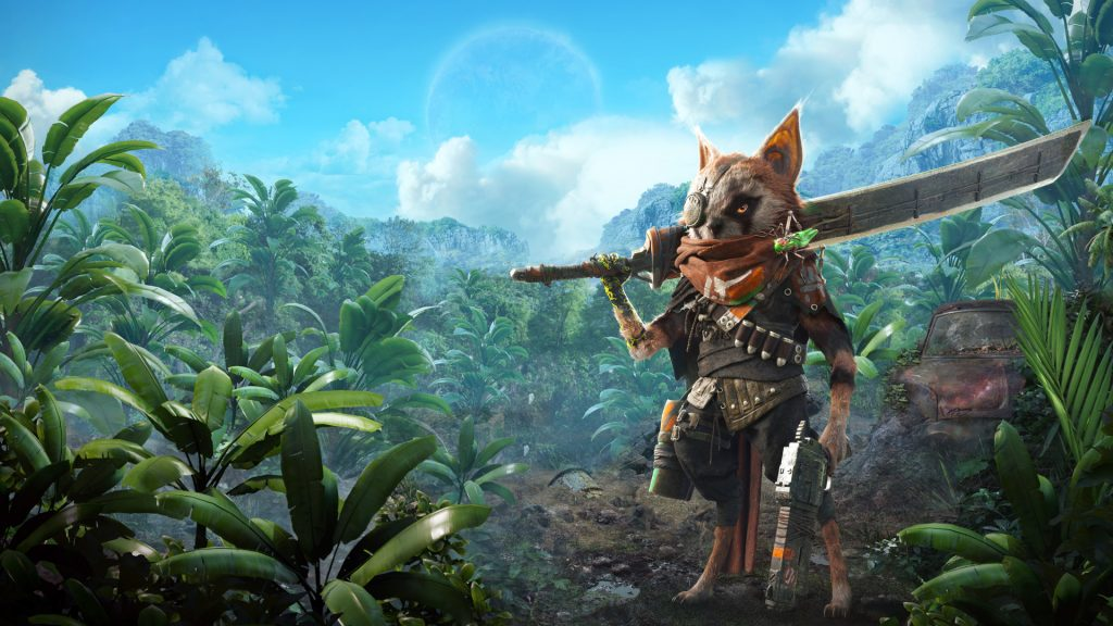 Biomutant Listed for Switch on EB Games Website