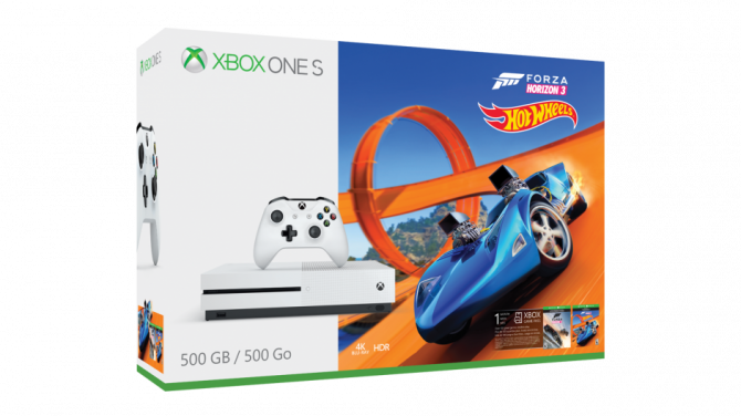 Forza Horizon 3 Hot Wheels Xbox One S Bundle Is Now Available