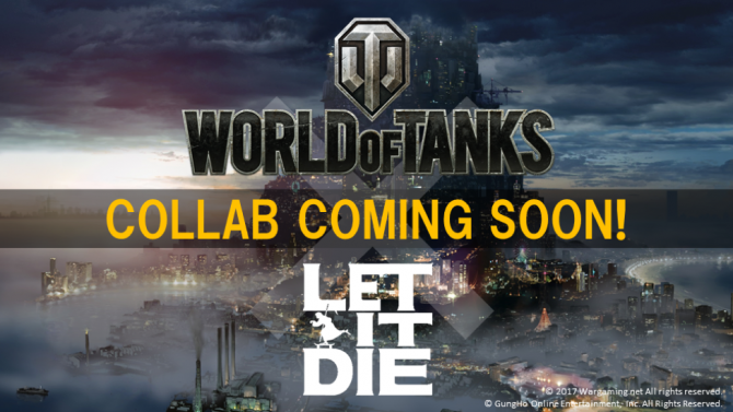 Let it Die Gets Collaboration With World of Tanks to Add New Skill Decals and More