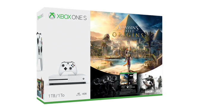Xbox One S Assassin's Creed Origins Bundles Announced