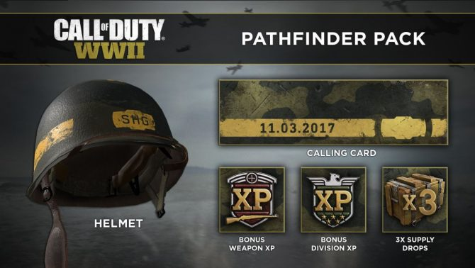 Call of Duty: WWII Pathfinder Pack Revealed; Includes In-Game Items, XP, and More