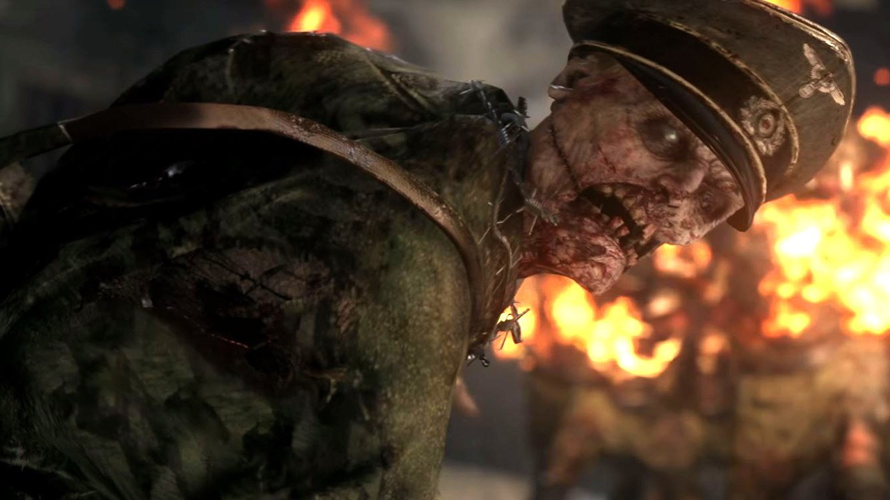 """Call Of Duty Ww2 Zombies Wallpaper: Call Of Duty: WWII Nazi Zombie Mode Will Be """"Scary"""" And"""