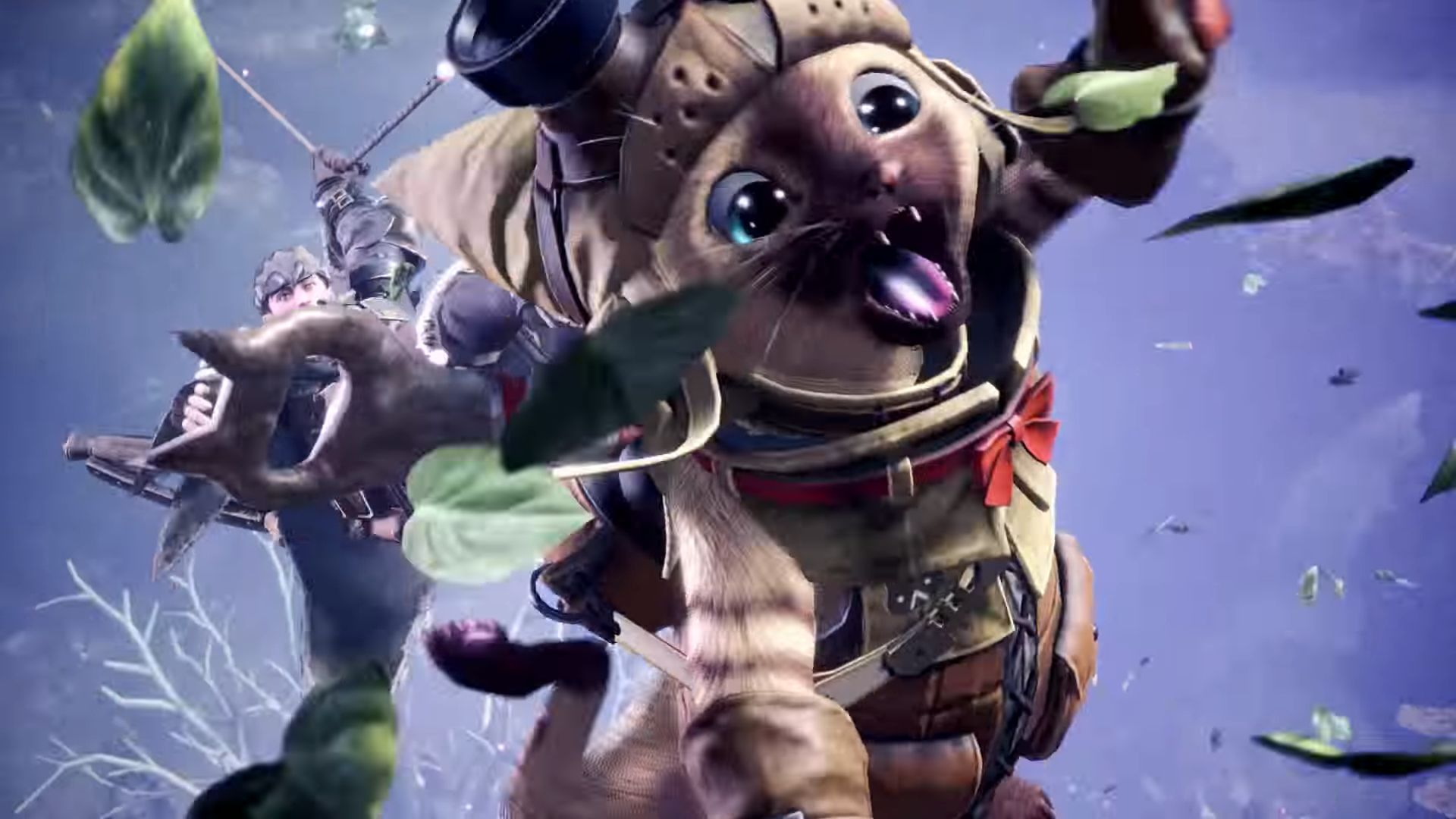 Monster Hunter World Tv Commercial Shows Characters Story And
