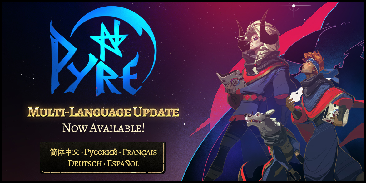Supergiant's Pyre Adds Five Major Language on PC, PS4