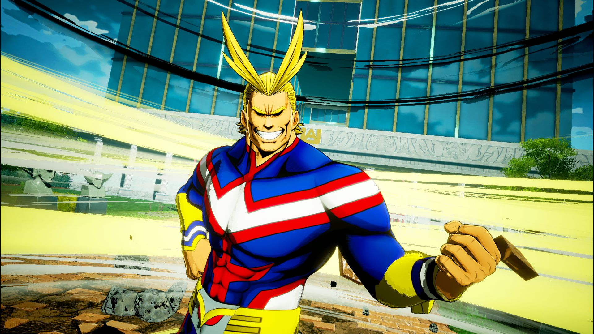 My Hero Academia One S Justice S New Character All Might Revealed