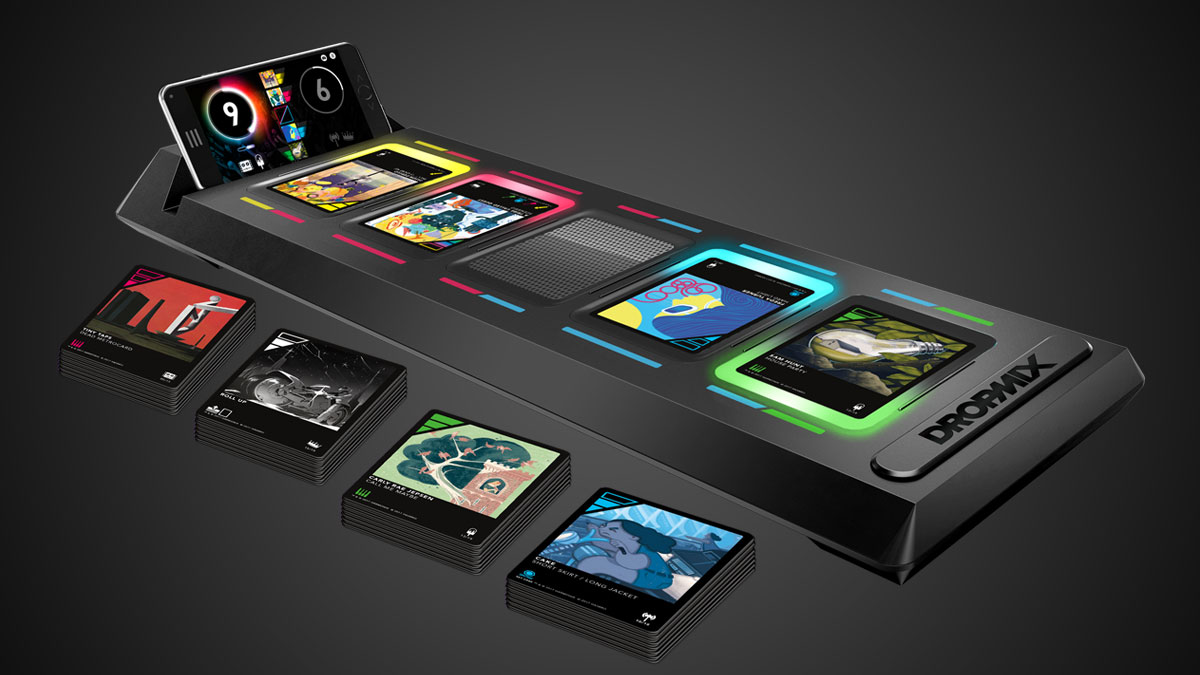 DropMix Brings the Heart and Soul of Guitar Hero and Rock Band to Tabletop