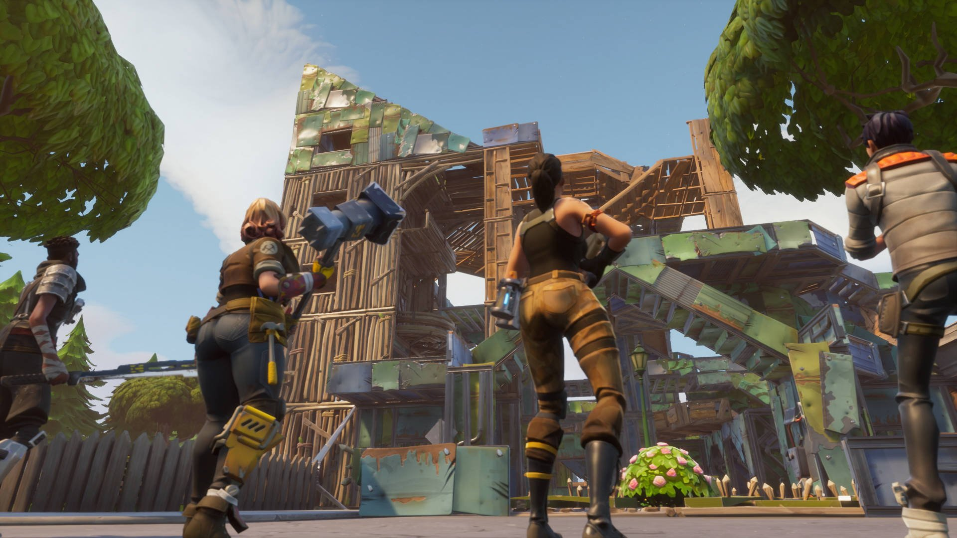 Fortnite Battle Royale Adds a Minigun and New Expedition Types