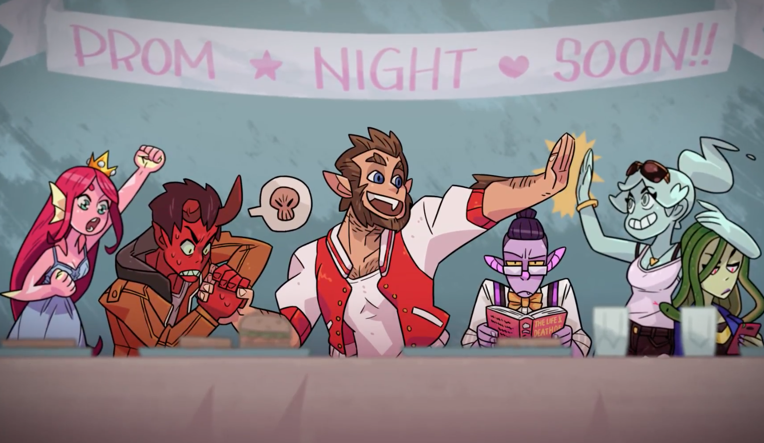 Monster Prom Is Available Now on Steam; Check Out the Launch Trailer
