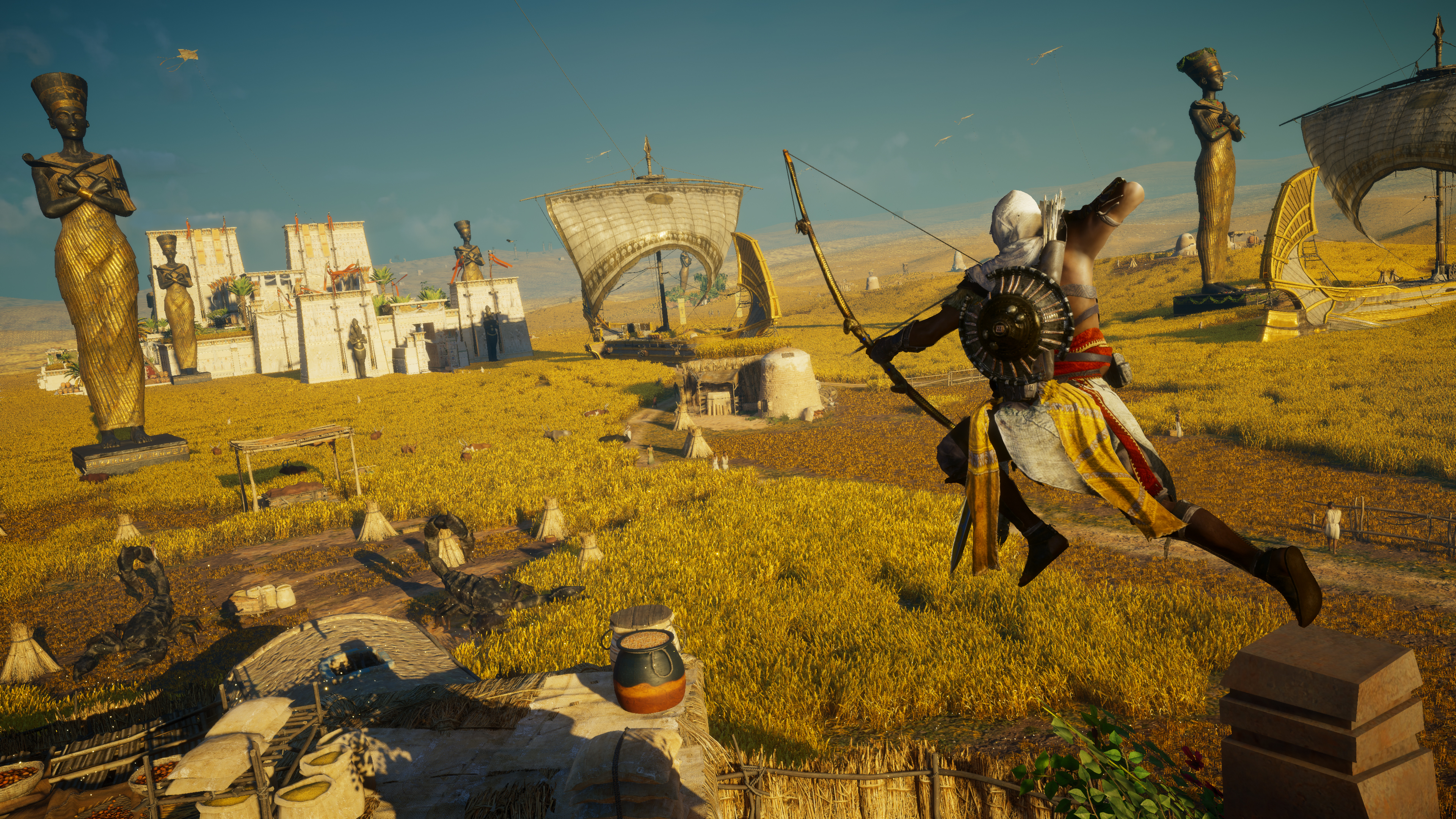 Assassin S Creed Origins Curse Of The Pharaohs Celebrates Launch