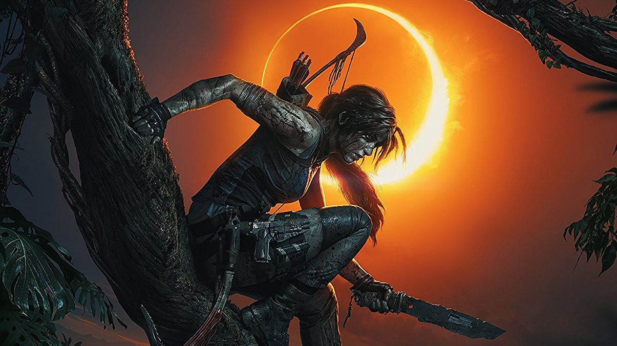 Watch New Shadow Of The Tomb Raider Ps4 Gameplay Played By Square Enix S President And A Cute Idol