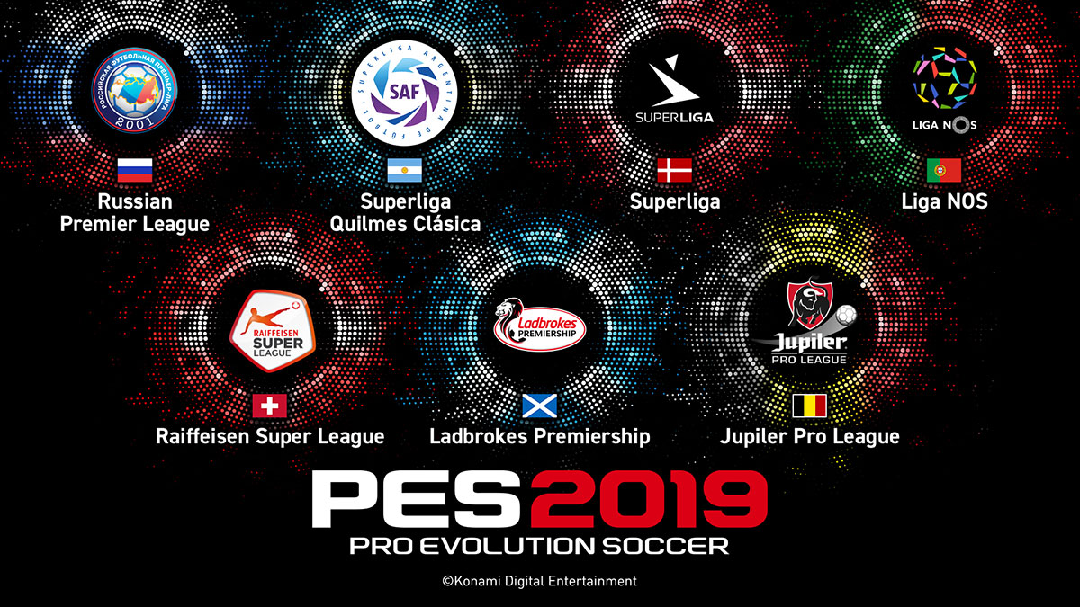 Konami's PES 2019 Partners with Russia to Score Exclusive League