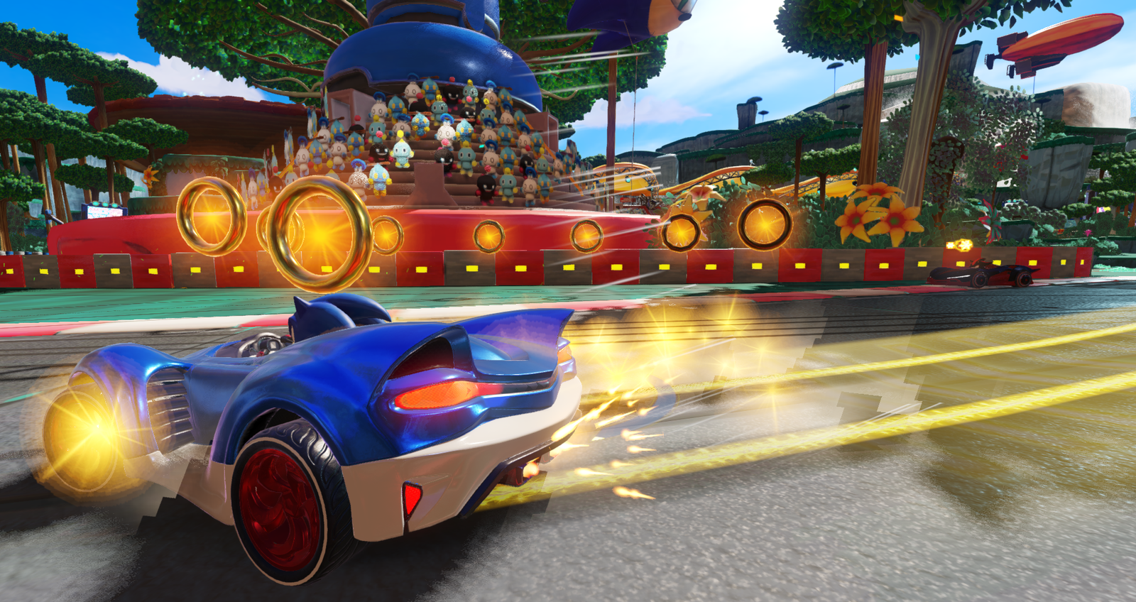 Listen to the Market Street Remix Track for Team Sonic Racing by Jun