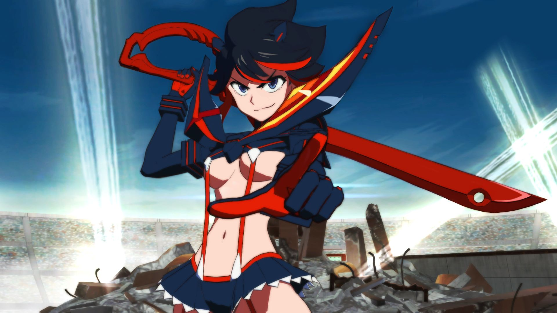 Kill La Kill The Game If For Ps4 And Pc Gets New 1080p