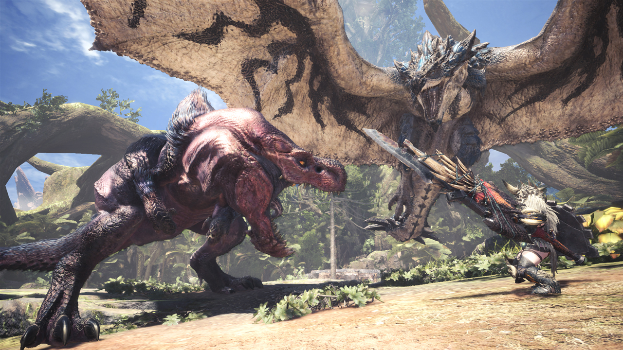 Monster Hunter World on PC Is Getting Free High Resolution
